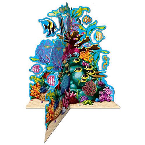 3D Under the Sea Coral Centerpiece