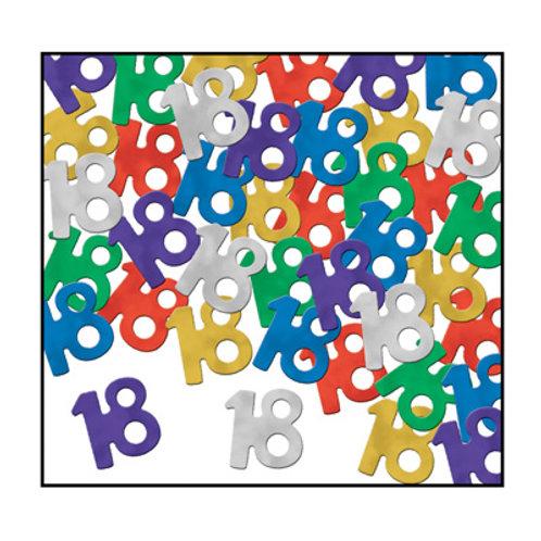 """Multi-Colored """"18"""" Confetti 5 oz"""