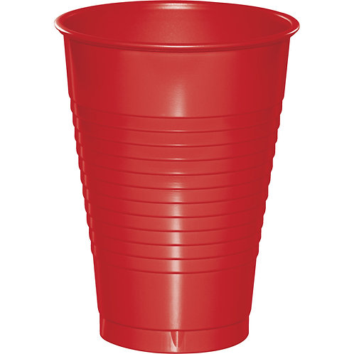 Red Classic Cup 12oz