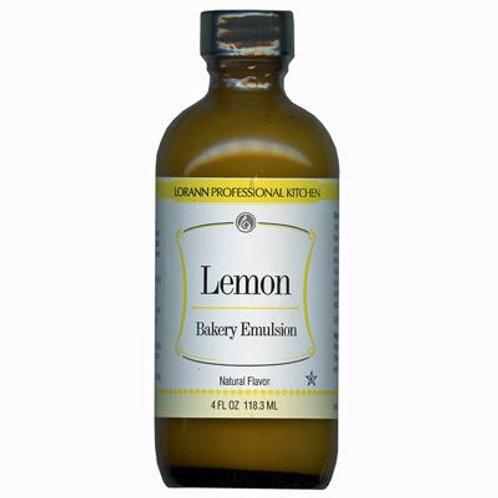 Flavor Oil Lemon 4Oz