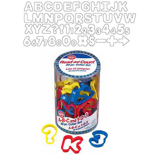 50 Pc Abc & 123 Set