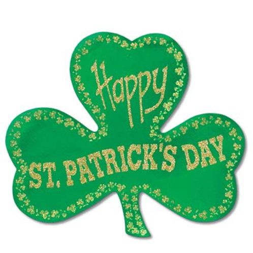 Saint Patrick's Shamrock Cutout