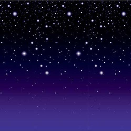 Backdrop Starry Night 30'