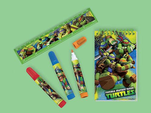 Teenage Mutant Ninja Turtle Stationary Set Favor