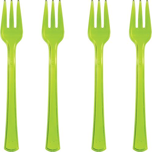 Forks Mini Green 24ct