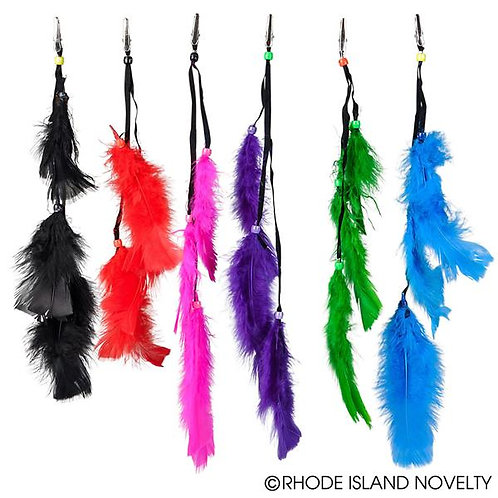 """Feather Clips 14"""" 12Ct"""