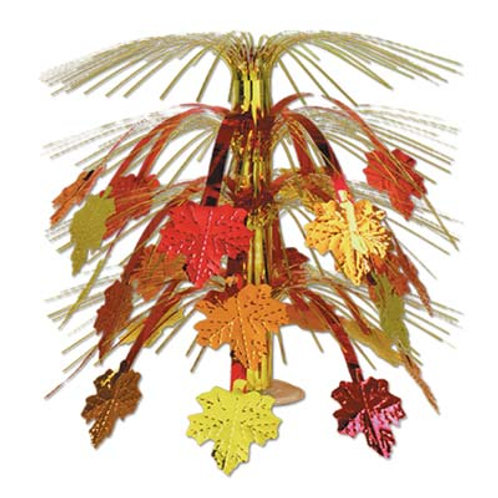 Thanksgiving Fall Leaves Centerpiece