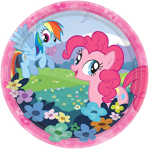 """My Little Pony 7"""" Plate (8Ct)"""