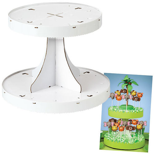 2 Tier Pops Display Stand 1Ct