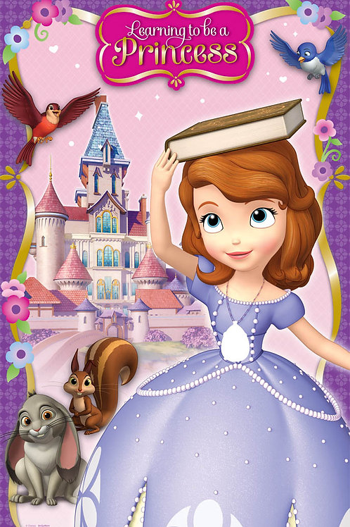 Sofia The First Party Game (4Ct)
