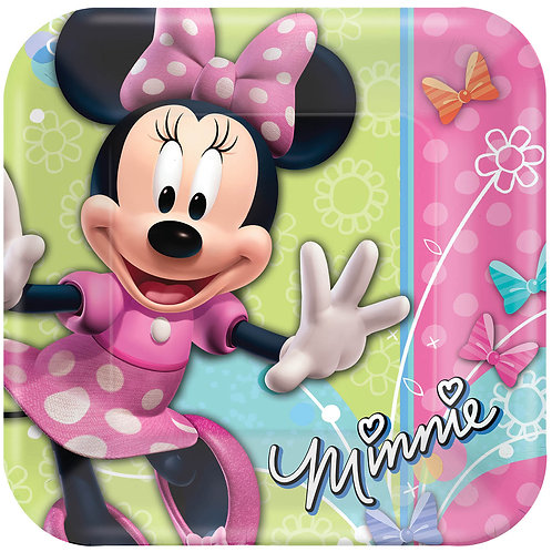 """Minnie Mouse 10"""" Plate (8Ct)"""
