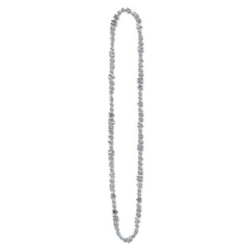 Silver Happy New Year Necklace 12CT