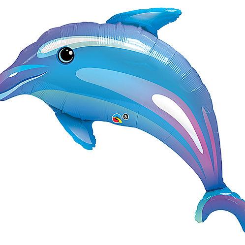 "42"" Dolphin Balloon Foil"