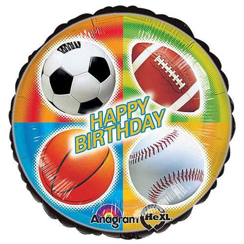 """Balloon Foil 17"""" Sports Balloon"""