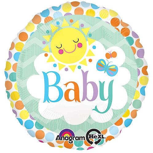 "Balloon Foil 17"" Friend Baby"