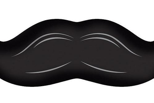 "Mustache Madness Balloon Mustache Shaped 36"""