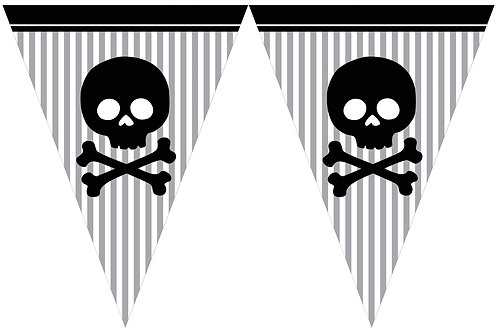Pirate Party Flag Banner