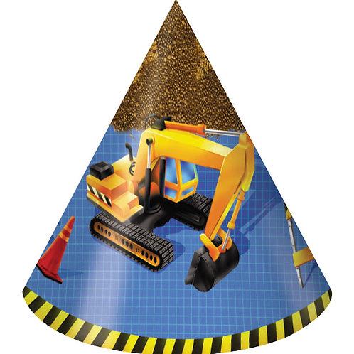 Construction Hat, Child (8ct)