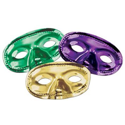 Assorted Metallic Carnival Mask