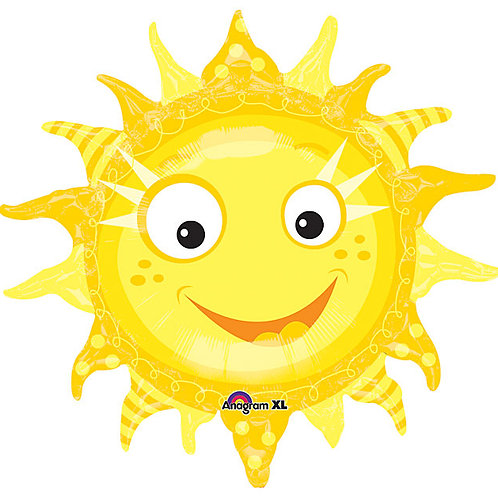 "Balloon Foil 29"" Sun"