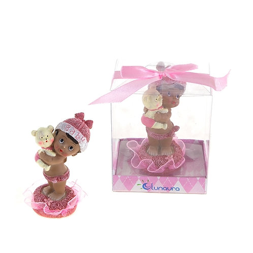 Favor Baby Hold Bear Pink