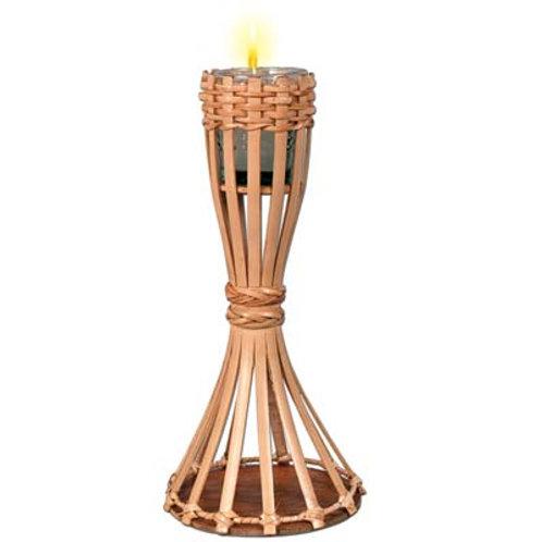 Lamp Bamboo Votive Tiki Torch Candle