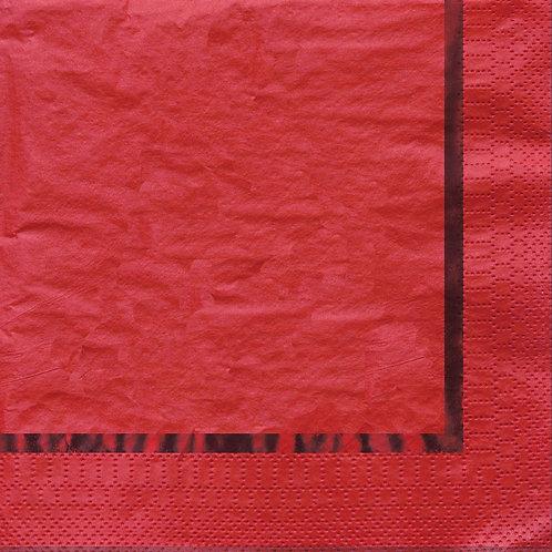 Glitz Red Luncheon Napkin (16ct)