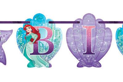 Ariel - Dream Big Add-An-Age Letter Banner
