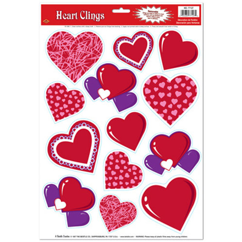 Valentine's Heart Clings