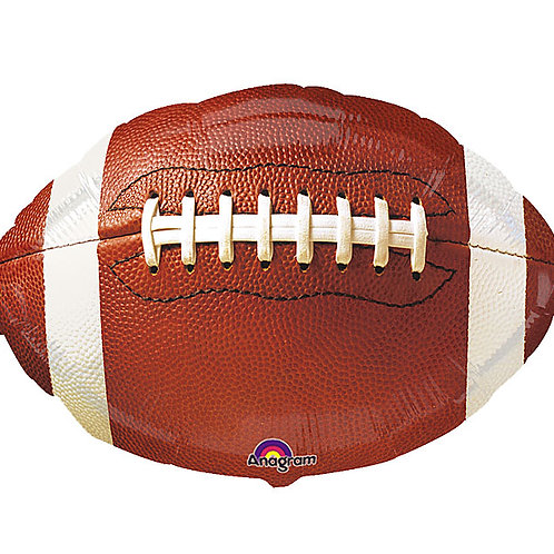 "Balloon Foil 18"" Football"