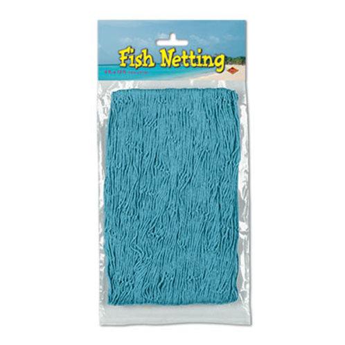 Turquoise Fish Net 4'x12'