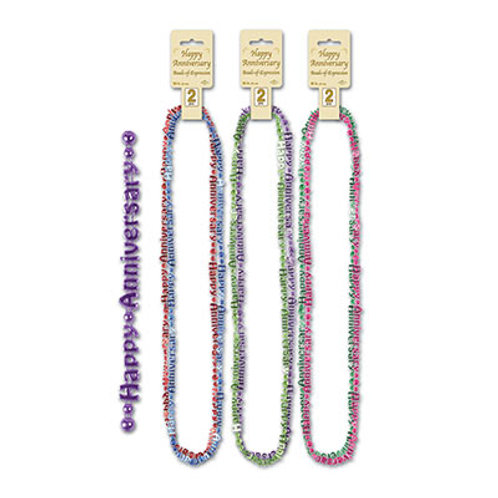 Assorted Happy Anniversary Necklace 2ct