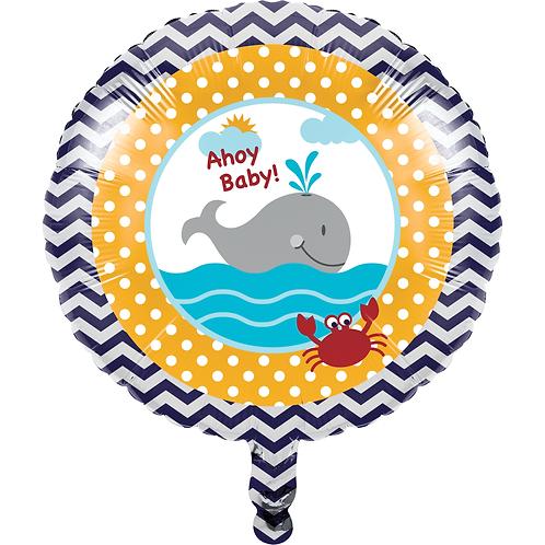 """Ahoy Matey 18"""" Foil Balloon"""