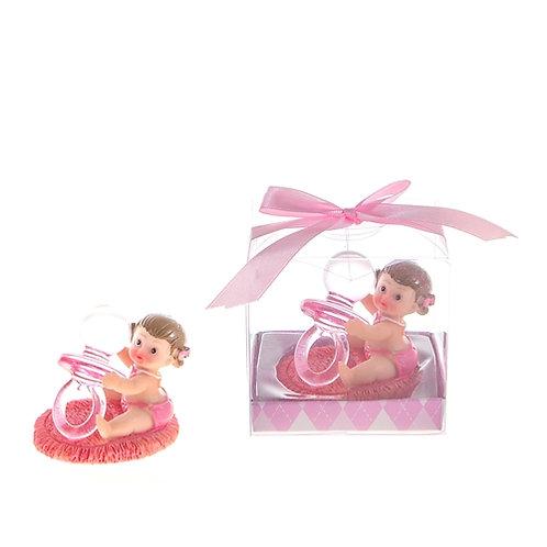 Favor Baby Pacifier Pink