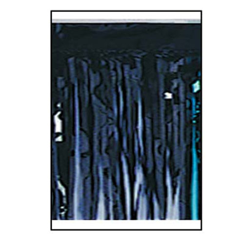 "Black Metallic Drape 15""x10'"