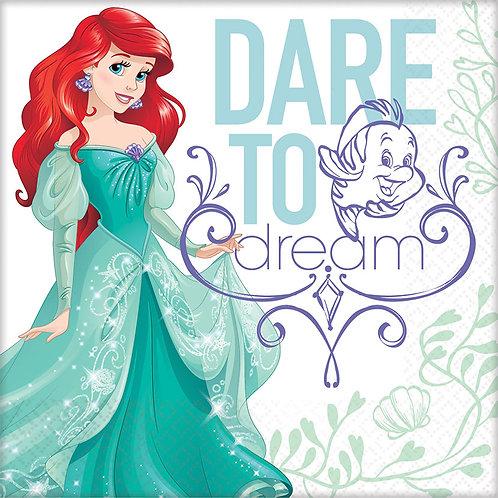 Ariel - Dream Big Luncheon Napkin (16Ct)