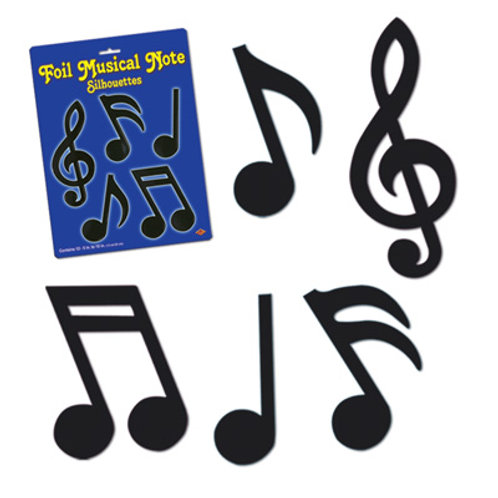 Music Notes 12 Pc