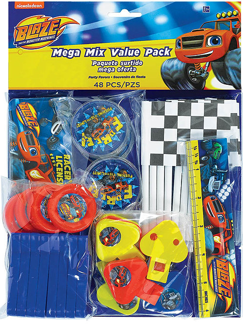 Blaze And The Monster Machines Mega Mix Value Pack (48Ct)