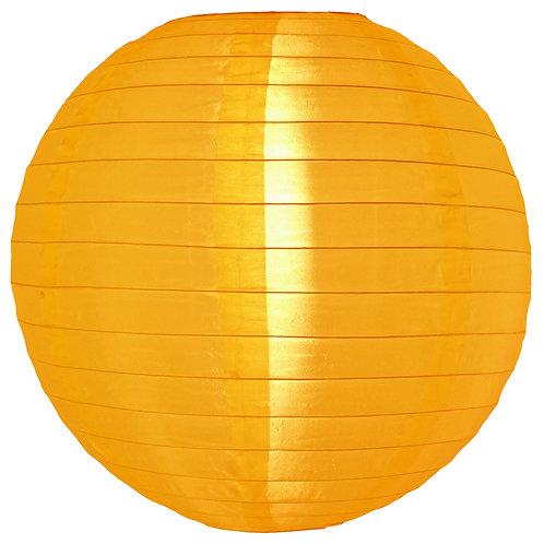 """Lantern Nylon 10"""" Round Golden Yellow"""