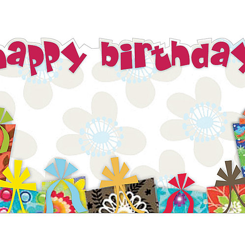 Enclosure Card Happy Birthday Gifts 50C