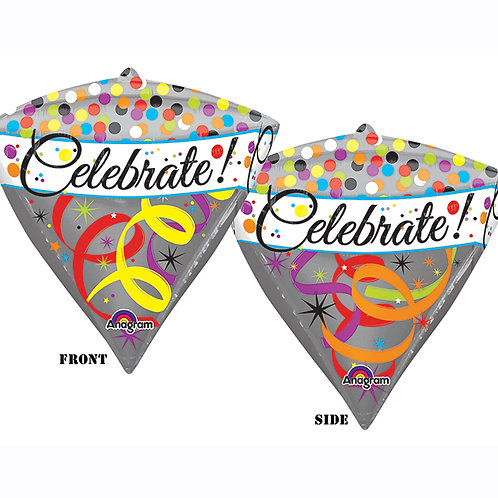 "Balloon Foil 17"" Celebrate Diamond"