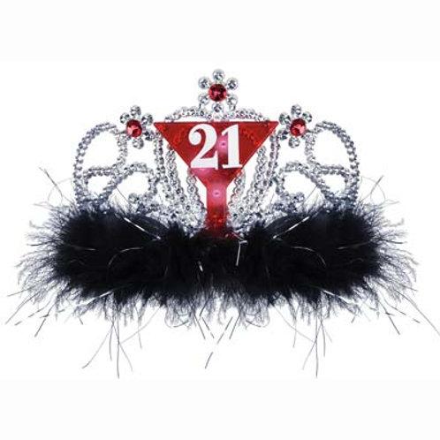 21st Birthday Light Up Tiara