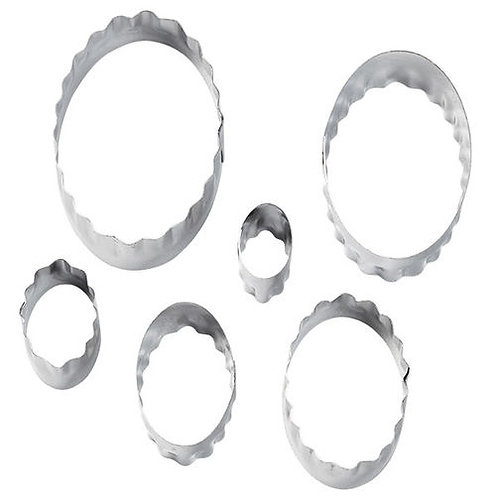 6Pc Cut-Outs™ - Oval