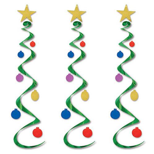 Christmas Tree Whirls 3ct