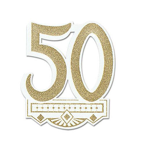50th Crest Cutout