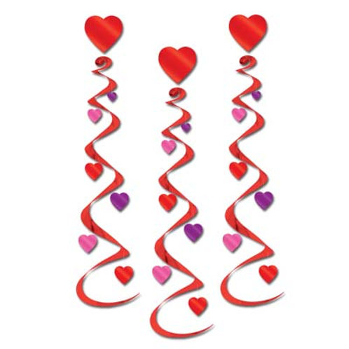 Valentine's Heart Whirls
