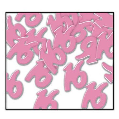 Pink Sweet 16 Confetti 1 oz