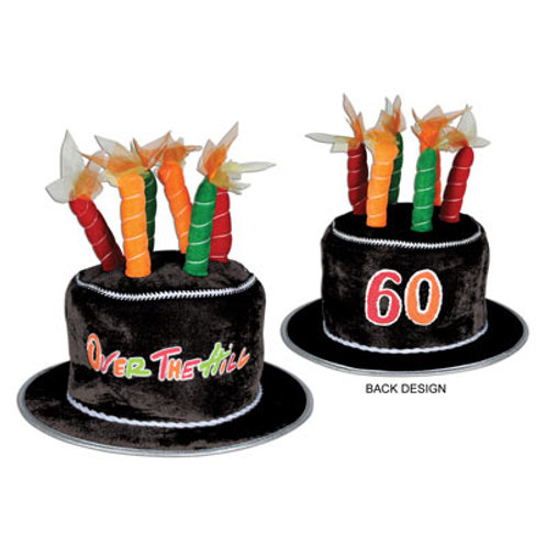 60th Birthday Over the Hill Hat