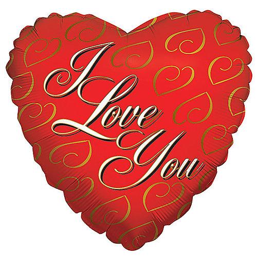 "Balloon Foil 18"" I Love You Heart"