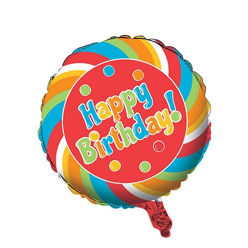 """Sugar Buzz Metallic Balloon 18"""""""